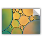 ArtWall 'Orange Green' by Cora Niele Graphic Art on Canvas; 24'' H x 36'' W x 0.1'' D