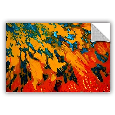 ArtWall 'Floating' by Byron May Painting Print on Canvas; 24'' H x 36'' W x 0.1'' D