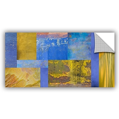 ArtWall 'Collage' by Cora Niele Graphic Art on Canvas; 24'' H x 48'' W x 0.1'' D