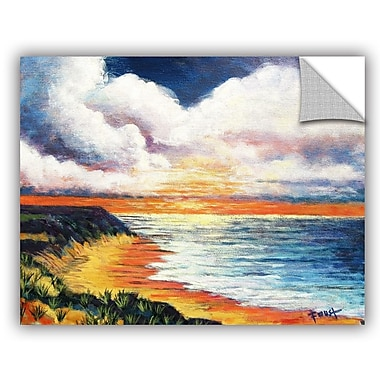 ArtWall 'Summer Breeze' by Gene Foust Painting Print on Canvas; 18'' H x 24'' W x 0.1'' D
