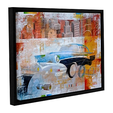 ArtWall '56' by Greg Simanson Framed Graphic Art on Wrapped Canvas; 14'' H x 18'' W