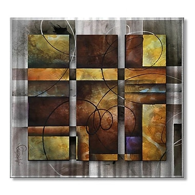 All My Walls 'Rendered' by Michael Lang Graphic Art Plaque