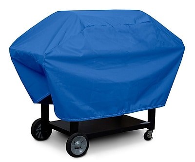 KoverRoos Weathermax Medium Barbecue Cover; Pacific Blue