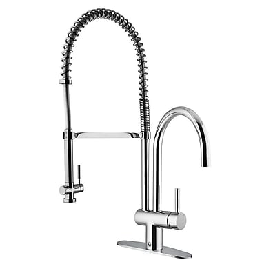 Vigo Dresden Pull-Down Spray Kitchen Faucet w/ Deck Plate