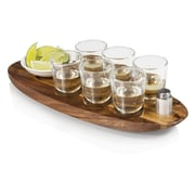 Picnic Time 9 Piece Cantinero Serving Tray Set