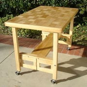 Oasis Concepts Dining Table; Natural