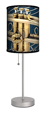 Lamp-In-A-Box Music Trumpet 20'' Table Lamp