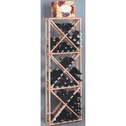 Wine Cellar Country Pine Open 132 Bottle Floor Wine Rack