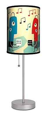 Lamp-In-A-Box Artist James Yang ''Music'' 20'' Table Lamp