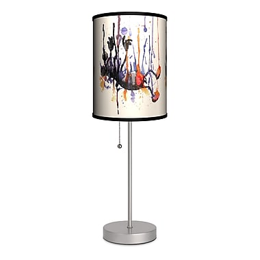 Lamp-In-A-Box Artist Nice Bleed ''Falling'' 20'' Table Lamp