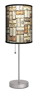 Lamp-In-A-Box Wine Corks 20'' Table Lamp