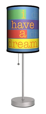 Lamp-In-A-Box I Have a Dream 20'' Table Lamp