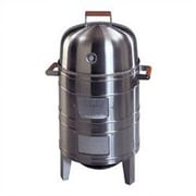 Meco Southern County Stainless Steel Charcoal Smoker