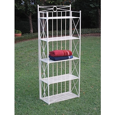 International Caravan St. Lucia Standard Baker's Rack