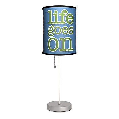 Lamp-In-A-Box Life Goes On 20'' Table Lamp