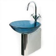 DecoLav Wall Mounted Sink Bracket; Polished
