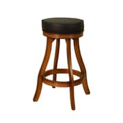 American Heritage 30.5'' Swivel Bar Stool; Vintage Oak