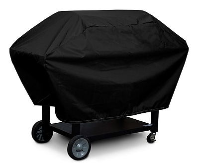 KoverRoos Weathermax 2-Shelf Barbecue Cover; Black