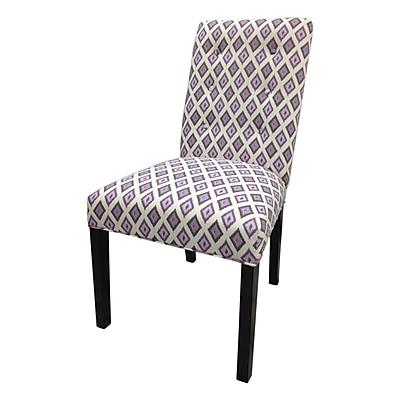 Sole Designs Side Chair (Set of 2); Purple