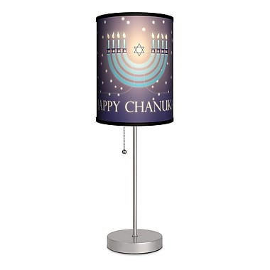 Lamp-In-A-Box Special Occasion Chanukah 20'' Table Lamp