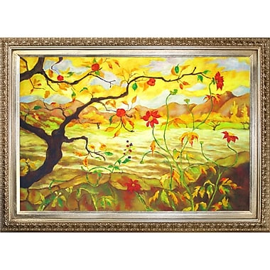 Tori Home Apple Tree w/ Red Fruit by Paul-Elie Ranson Framed Painting