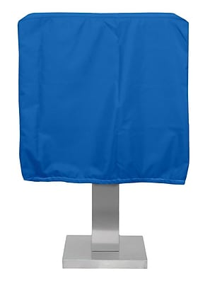 KoverRoos Weathermax Pedestal Barbecue Cover; Pacific Blue