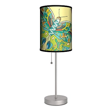Lamp-In-A-Box Artist Cole Gerst ''Butterfly'' 20'' Table Lamp