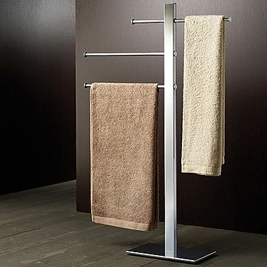 Gedy by Nameeks Bridge Sliding 3-Tier Free Standing Towel Stand