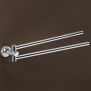Gedy by Nameeks Texas Jointed Double Wall Mounted Towel Bar