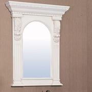 Legion Furniture Hampshire Mirror; Ivory White