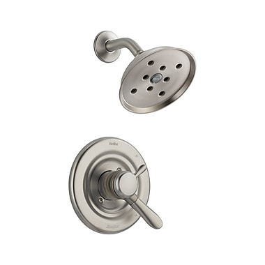 Delta Lahara Shower Faucet Trim w/ Lever Handles; Brilliance Stainless