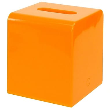 Gedy by Nameeks Kyoto Tissue Box Cover; Orange
