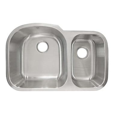 LessCare 31.38'' x 20.63'' Undermount Double Basin Kitchen Sink