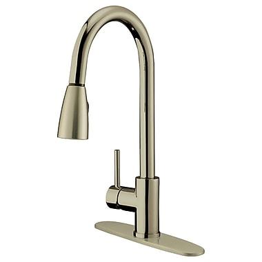 LessCare Single Handle Pull-Down Kitchen Faucet