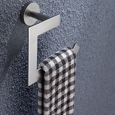 Kraus Imperium Wall Mounting Toilet Paper Holder; Brushed Nickel