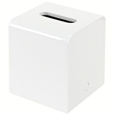 Gedy by Nameeks Kyoto Tissue Box Cover; White