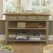 Liberty Furniture Console Table; Taupe