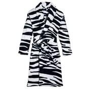 Three Cheers For Girls! Wild Zebra Robe; Small/Medium