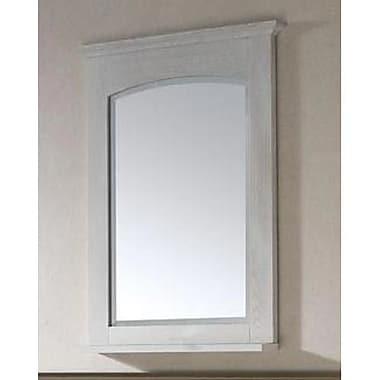 Avanity Westwood Vanity Mirror; White Washed