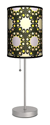 Lamp-In-A-Box Decor Art Sunburst 20'' Table Lamp
