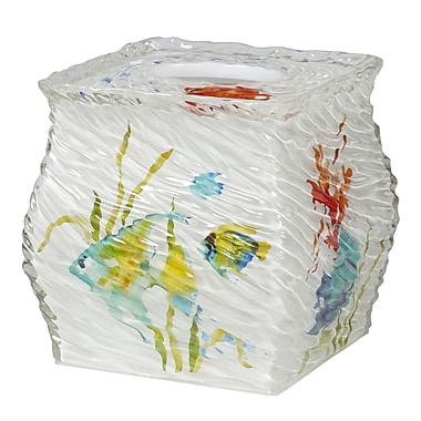 Creative Bath Rainbow Fish Tissue Box Cover