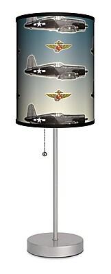 Lamp-In-A-Box Transportation Corsair 20'' Table Lamp