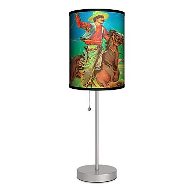 Lamp-In-A-Box Lasso Cowboy 20'' Table Lamp