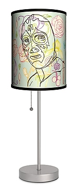 Lamp-In-A-Box Artist Ruben Esparza ''Mil Flores'' 20'' Table Lamp