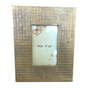 Timbergirl Wooden Brass Cladded Picture Frame