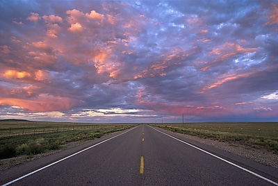 Brewster Home Fashions National Geographic Highway At Sunset Wall Mural
