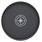 Kraftware Compass Point 16'' Round Serving Tray