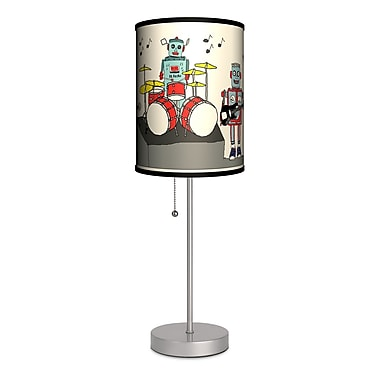 Lamp-In-A-Box Artist Carrie Masters ''Rock and Roll Band'' 20'' Table Lamp