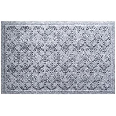 Entryways Weather Beater Snowflakes Doormat