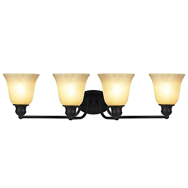 Chloe Lighting Gauss Transitional 4-Light Vanity Light